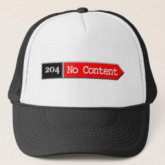 204 - No Content Trucker Hat