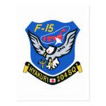 204SQ F-15 Hyakuri Patch Post Cards