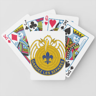 204th Aviation Group Bicycle Playing Cards