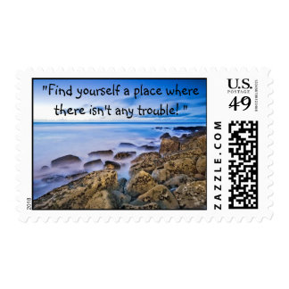 """2050694221_d9bda5ae58[1], """"Find yourself a plac... Postage Stamp"""