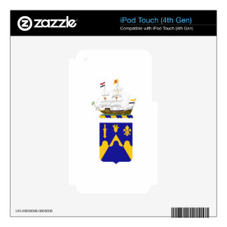 205 Armor Regiment iPod Touch 4G Decals