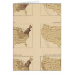 205 Manufactures/sq mile Greeting Card