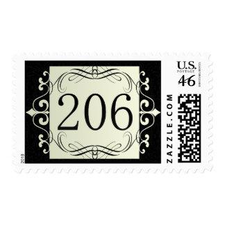 206 Area Code Postage