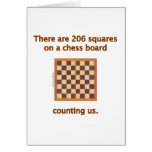 206 Chess Squares Card