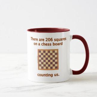 206 Chess Squares Mug