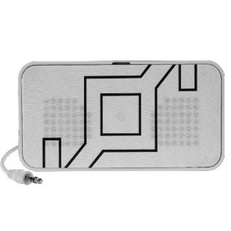 206th Infantry Division logo Portable Speakers
