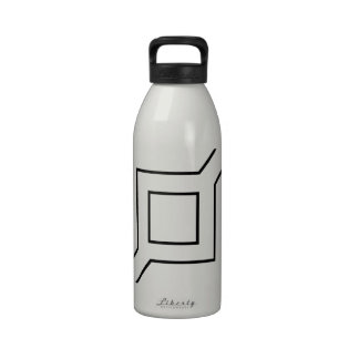 206th Infantry Division logo Reusable Water Bottles