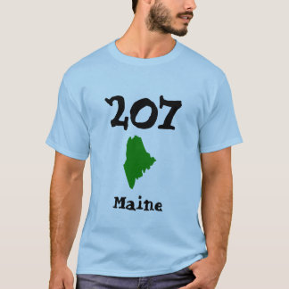 207, Area Code of Maine T-Shirt