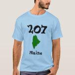 207, código de área de Maine Playera
