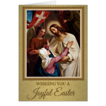 207 Happy Joyful Easter Sunday Greeting Card