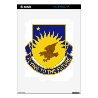 207th Aviation Regiment - Flying To The Future iPad 2 Skin