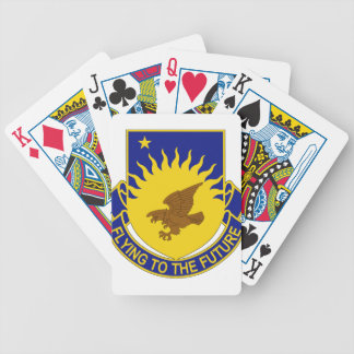 207th Aviation Regiment - Flying To The Future Bicycle Playing Cards