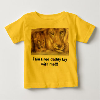 2086058393, i am tired daddy lay with me!!! baby T-Shirt