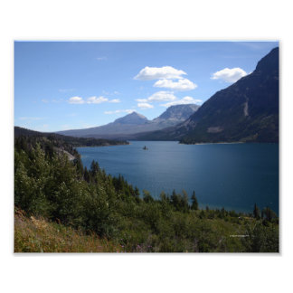 2088 8/12 St. Mary's Lake and Goose Island Photo Print