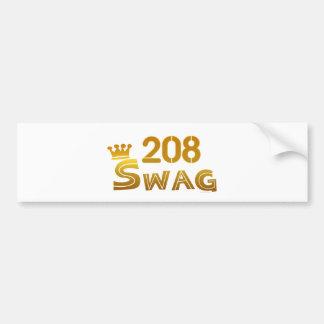208 Idaho Swag Car Bumper Sticker