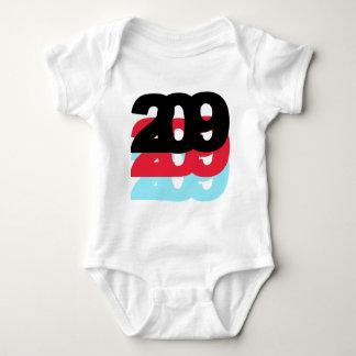 209 Area Code T-shirt