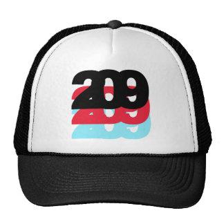 209 Area Code Trucker Hat