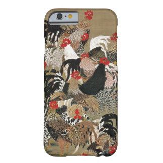 20. 群鶏図, 若冲 Flock of Roosters, Jakuchū, Japan Art Barely There iPhone 6 Case