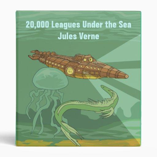 20,000 Leagues Under the Sea - Jules Verne Binders