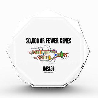20,000 Or Fewer Genes Inside (DNA Replication) Acrylic Award