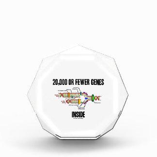 20,000 Or Fewer Genes Inside (DNA Replication) Award