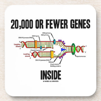 20,000 Or Fewer Genes Inside (DNA Replication) Coaster