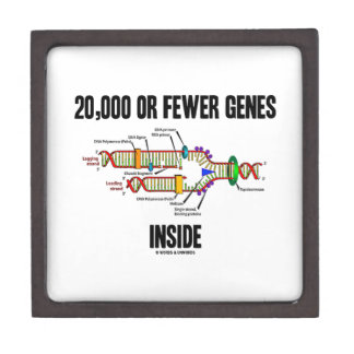 20,000 Or Fewer Genes Inside (DNA Replication) Gift Box