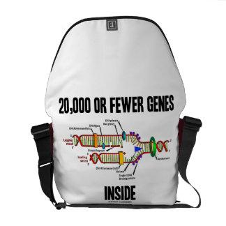 20,000 Or Fewer Genes Inside (DNA Replication) Messenger Bag