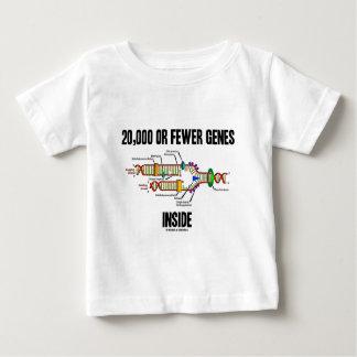 20,000 Or Fewer Genes Inside (DNA Replication) T Shirt