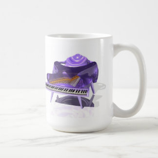 #20-01: Manta Piano. Coffee Mug