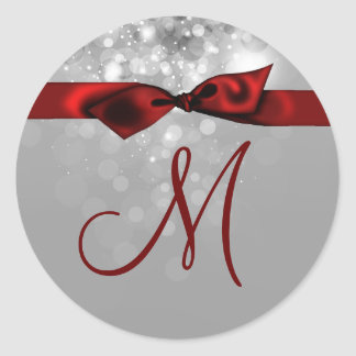 20 - 1.5  Envelope Seal Monogram Christmas XMAS