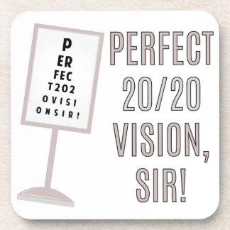20/20 Vision Beverage Coaster