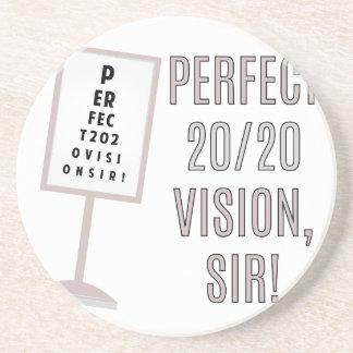 20/20 Vision Drink Coaster
