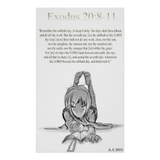 20:8 del éxodo - 11 póster