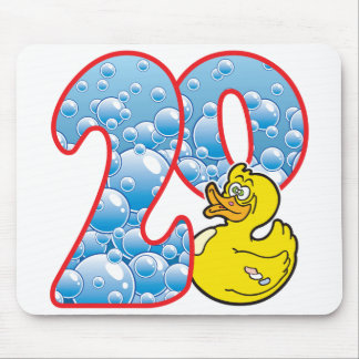 20 Age Duck Mouse Pad