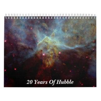 20 años de Hubble Calendario