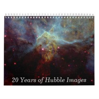 20 años de imágenes de Hubble Calendario De Pared