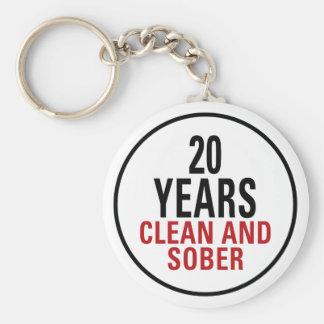 20 años limpian y calman llavero