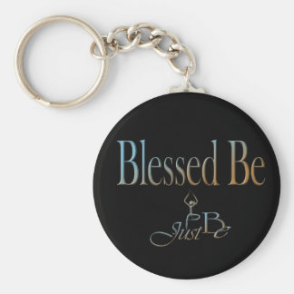 20 Blessed Be Basic Round Button Keychain