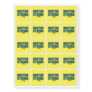 20 Boston Strong Ribbon Remembrance Temporary Tattoos