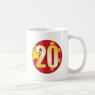 20 CHINA Gold Coffee Mug