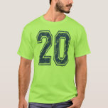 20 Custom Jersey T-Shirt