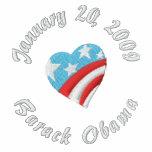 20 de enero de 2009, Barack Obama Sudadera Con Capucha