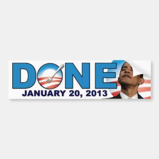 - 20 de enero de 2013 - Obama anti HECHO Pegatina Para Auto