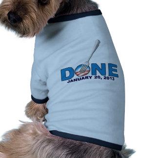 - 20 de enero de 2013 - Obama anti hecho Camiseta De Mascota