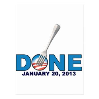 - 20 de enero de 2013 - Obama anti hecho Tarjeta Postal