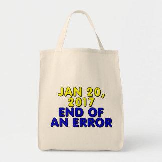 20 de enero de 2017: Final de un error