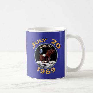 20 de julio de 1969 misión de Apolo 11 en la luna Taza De Café