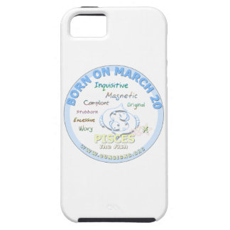 20 de marzo cumpleaños - Piscis iPhone 5 Carcasa