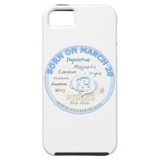 20 de marzo cumpleaños - Piscis iPhone 5 Fundas